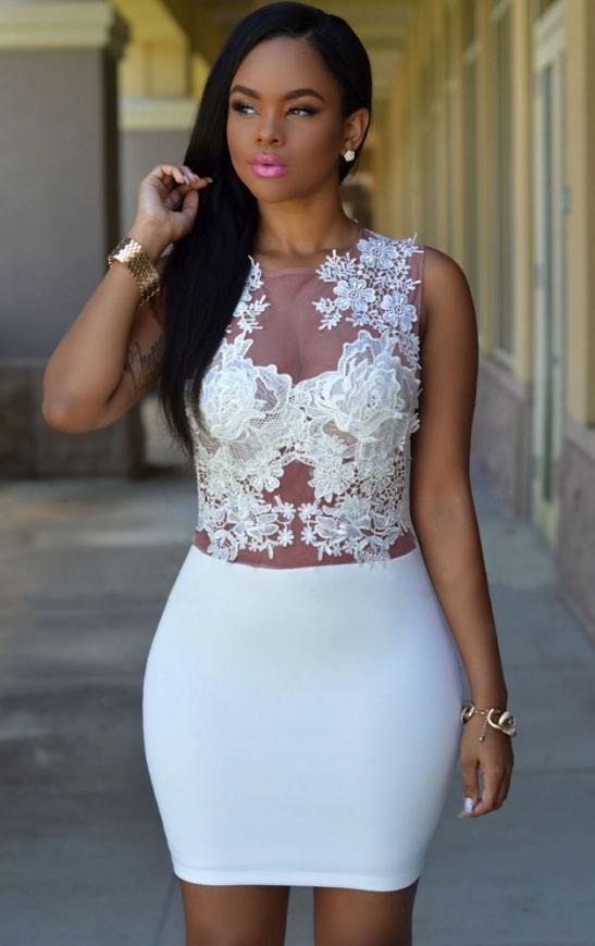 Bało wrzosowa sukienka z koronką