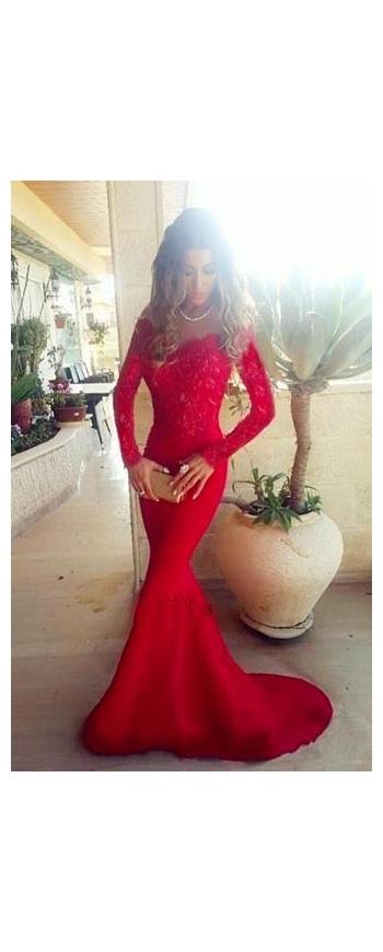 Czerwona suknia wieczorowa. Czerwone sukienki na wesele, studniówkię, karnawał.