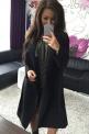 Flauszowy płaszcz damski | płaszcze jesienno wiosenne