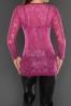Czarny sweterz wycięciami przy dekolcie | czarne swetry damskie