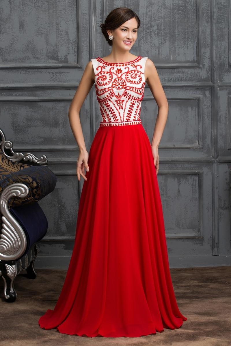 bea1f431b5 Czerwona suknia wieczorowa w stylu sukni Sherri Hill - Sklep ...