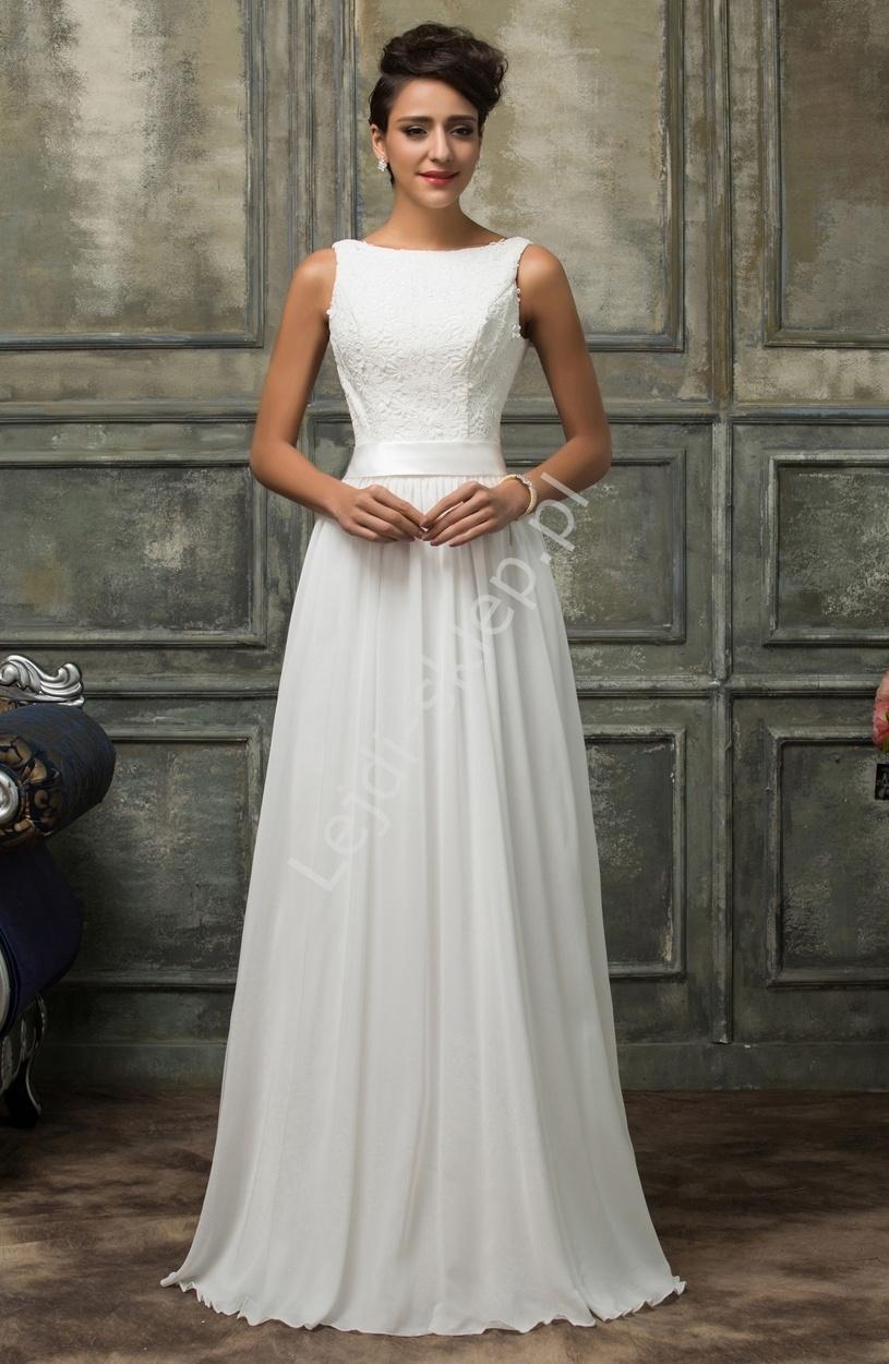 e75cf929f87b97 Elegancka suknia ślubna - Sklep internetowy StyliJa