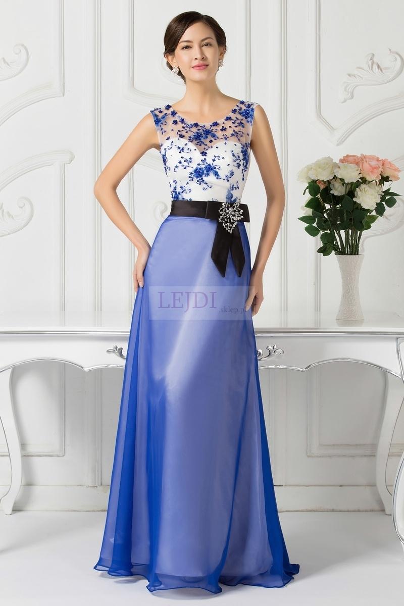 6ab15bedc4 Długa wieczorowa suknia na wesele dla mamy panny młodej czy pana ...