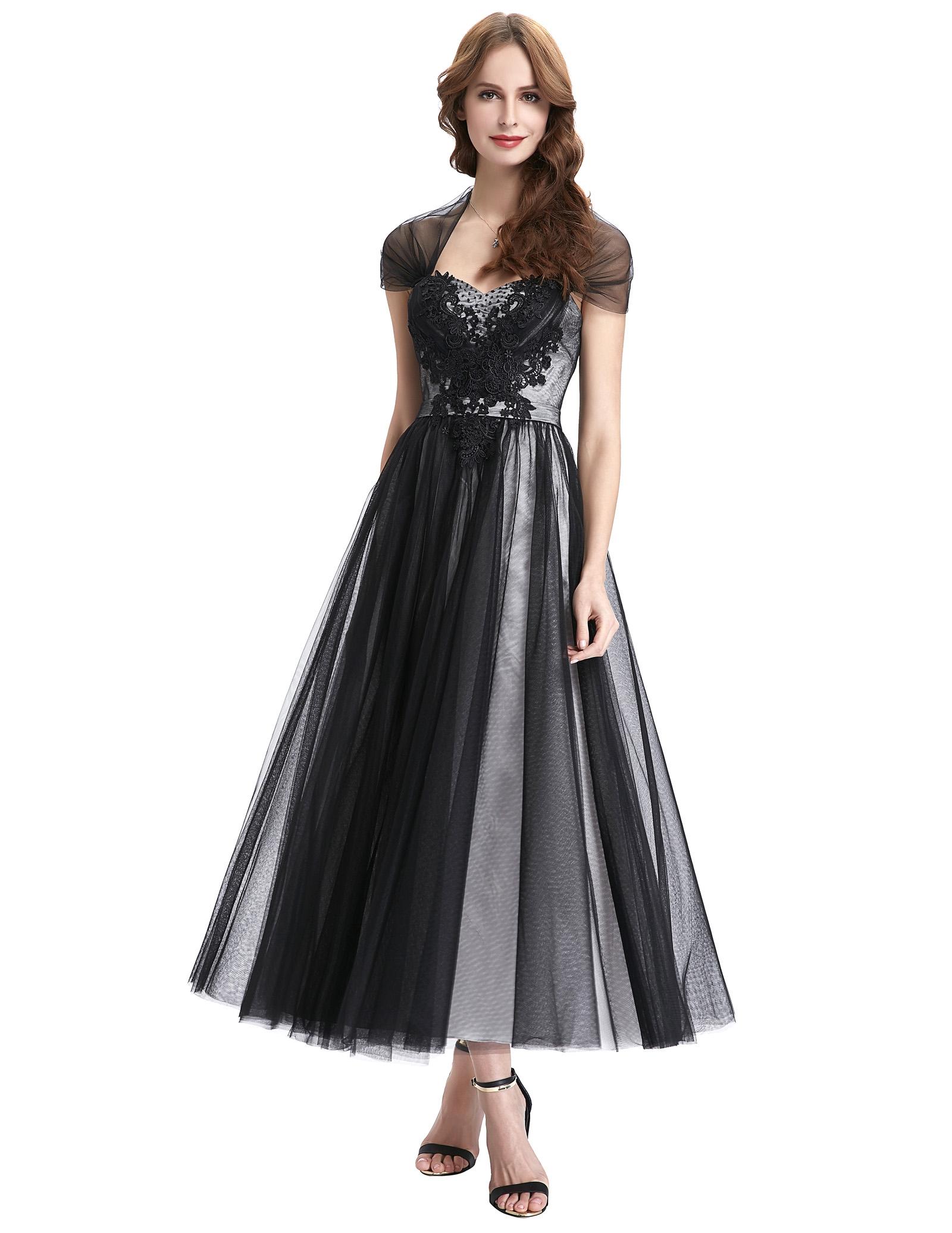 51c00913dc ... Tiulowa sukienka midi z koronką i perełkami