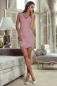 Elegancka sukienka wieczorowa w kolorze lila - Mia
