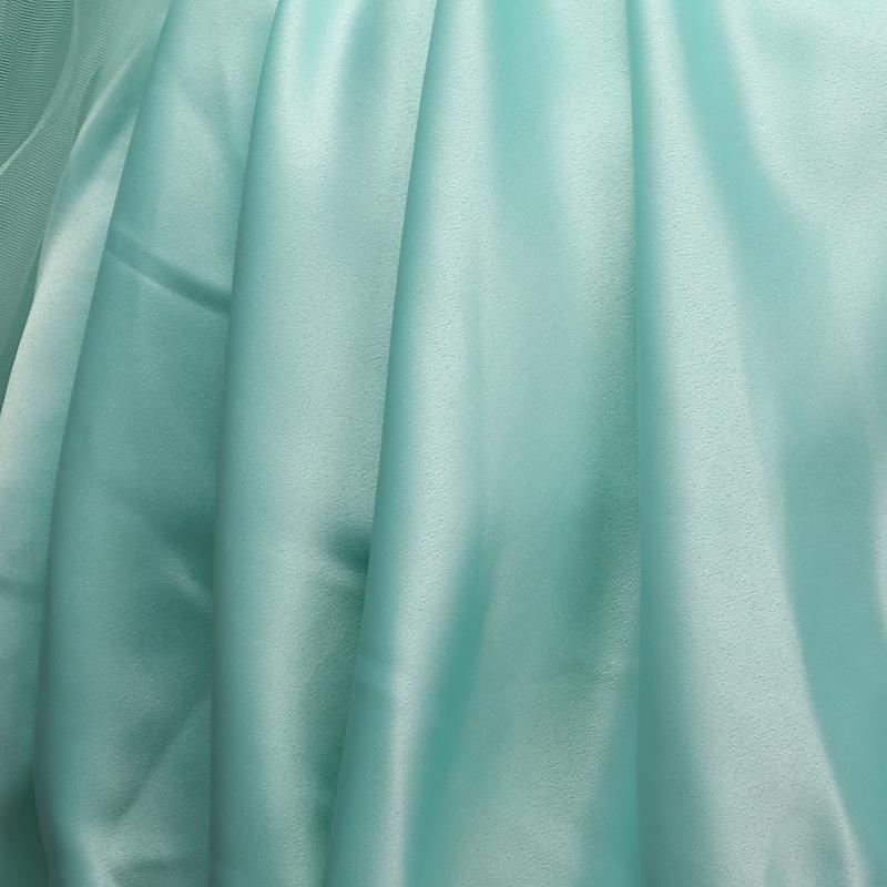 6cf0b25a Turkusowa sukienka dla dziewczynki bogato zdobiona koronką - Sklep ...