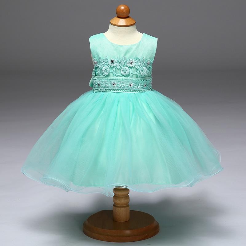 51e668f6 Tiulowa turkusowa sukienka dla dziewczynki |sukienka dziecięca na ...