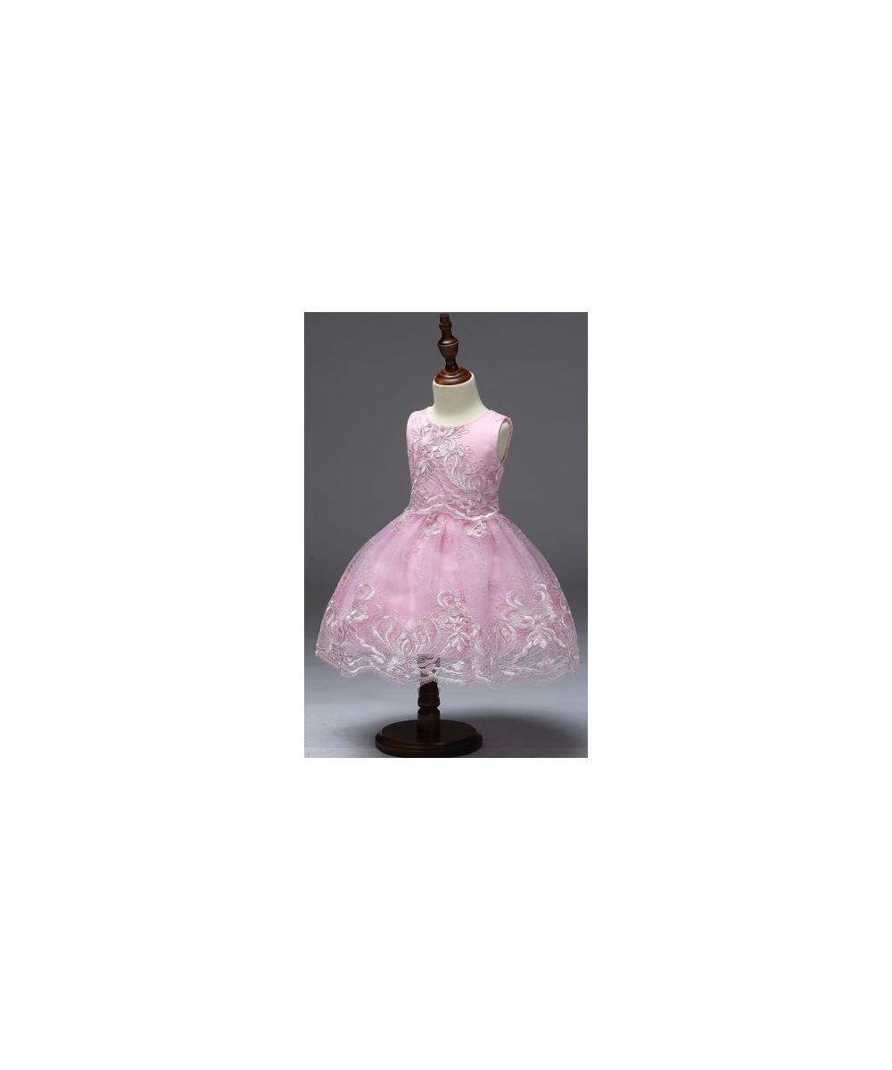 3d2f44c389 Jasno różowa sukienka dla dziewczynki na wesele