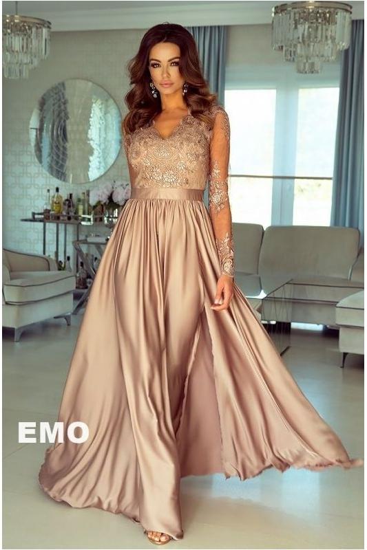 37364d64e388 Długa zwiewna suknia na wesele