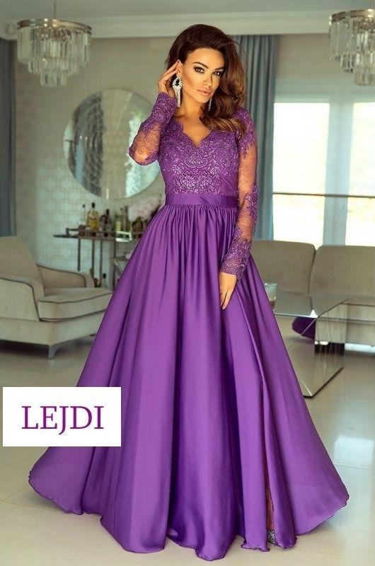 5612e53cbd Sukienka Emo Luna fioletowa na studniówkę