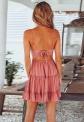 Letnia sukienka w kolorze brudnego różu