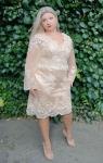 Sukienka koronkowa Plus Size Diana