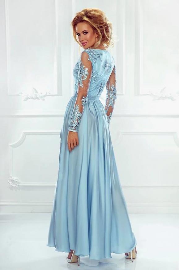 Błekitna suknia wieczorowa Luna