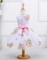 Kwiatowa sukienka dla dziewczynki