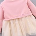 Sukienka dla dziewczynki z króliczkiem