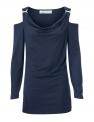 Granatowa damska bluzka ASHLEY BROOKE