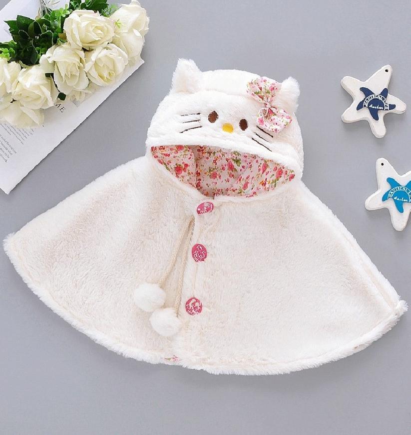 Piękna pelerynka dla dziewczynki z Hello Kitty