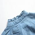 Jeansowa sukienka dla dziewczynki z tiulową spódnicą tutu
