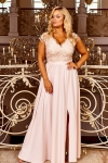 Wieczorowa suknia beżowo złota, Chantell