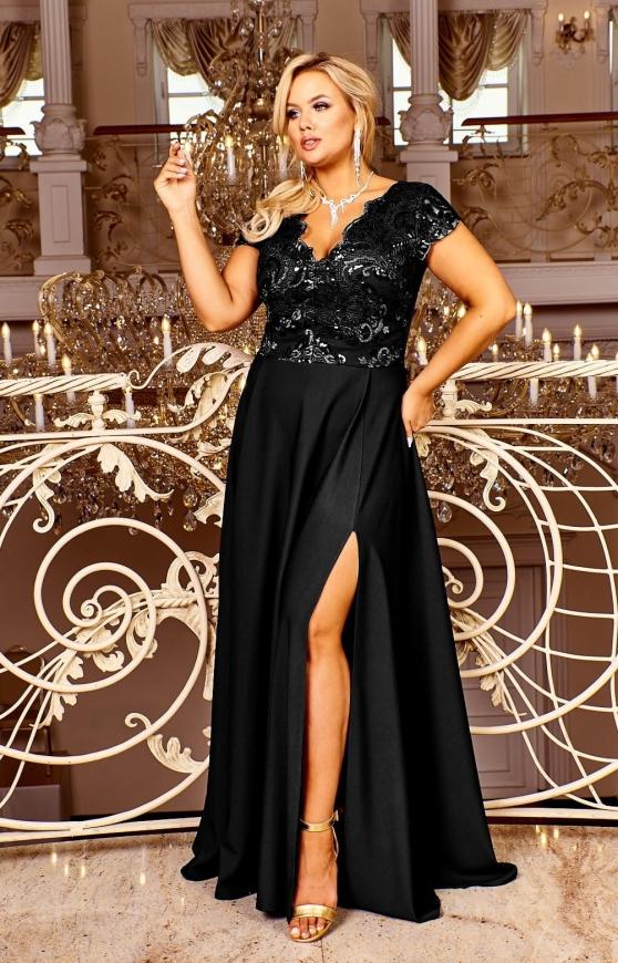 Czarna suknia wieczorowa, Crystal 2