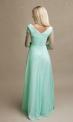 Sukienka ślubna z koronką i długim rękawem 1811