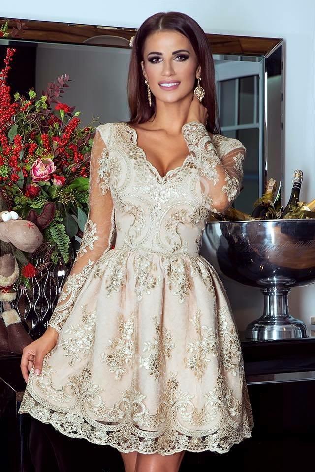 Sukienka rozkloszowana na wesele